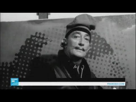 القضاء الإسباني يأمر بفتح قبر الفنان سلفادور دالي  - 17:22-2017 / 7 / 20