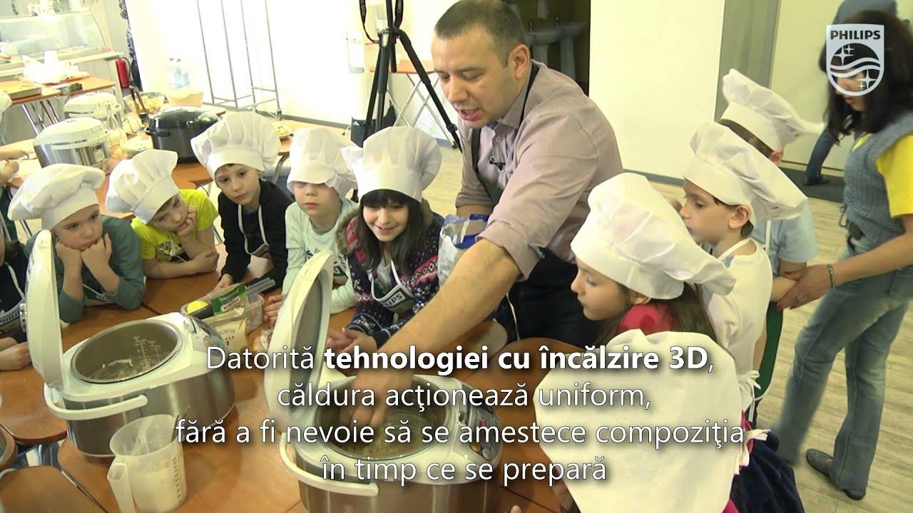 Philips Multicooker gateste retete delicioase alaturi de copiii tai