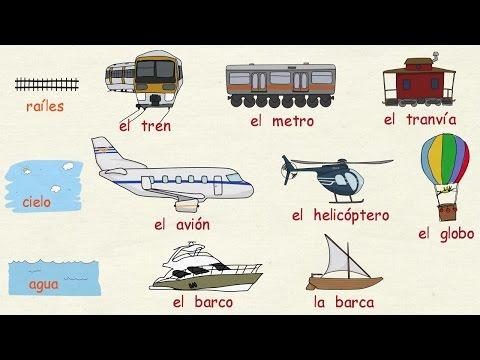 Aprender español: Los medios de transporte (nivel básico)