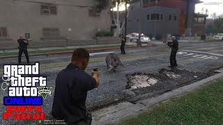GTA V KUFFS Online Multiplayer Patrol With Mods 6 | Pigs Cooking Bacon | Wild Boar On The Loose