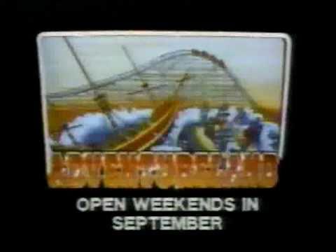 Iowas Adventureland Themepark TV Commercial 1985