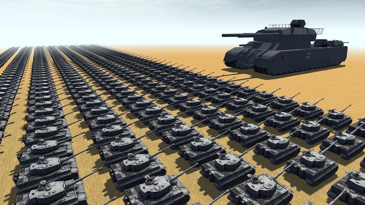 Download Landkreuzer P.1000 RATTE - Men of War Assault Squad 2