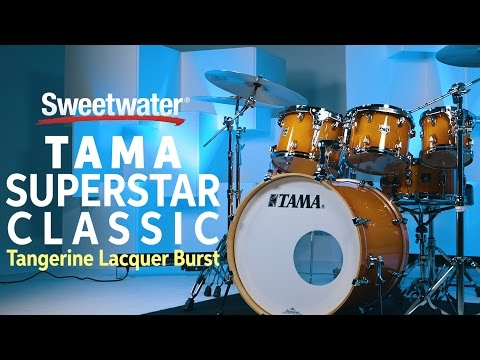 TAMA Superstar Classic 7-piece Shell Pack Review