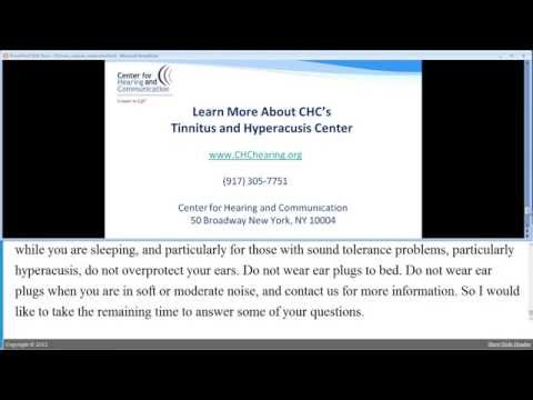 Introduction to Tinnitus Retraining Therapy