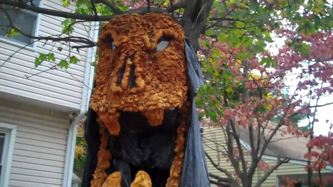 my halloween decorations youtube