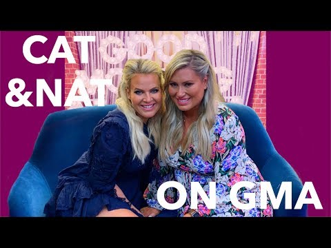 Nat Goes Off The Rails Before Good Morning America   Cat & Nat   VLOG