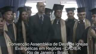 Baixar Primeira turma Formandos Capelães Convenção CADIER