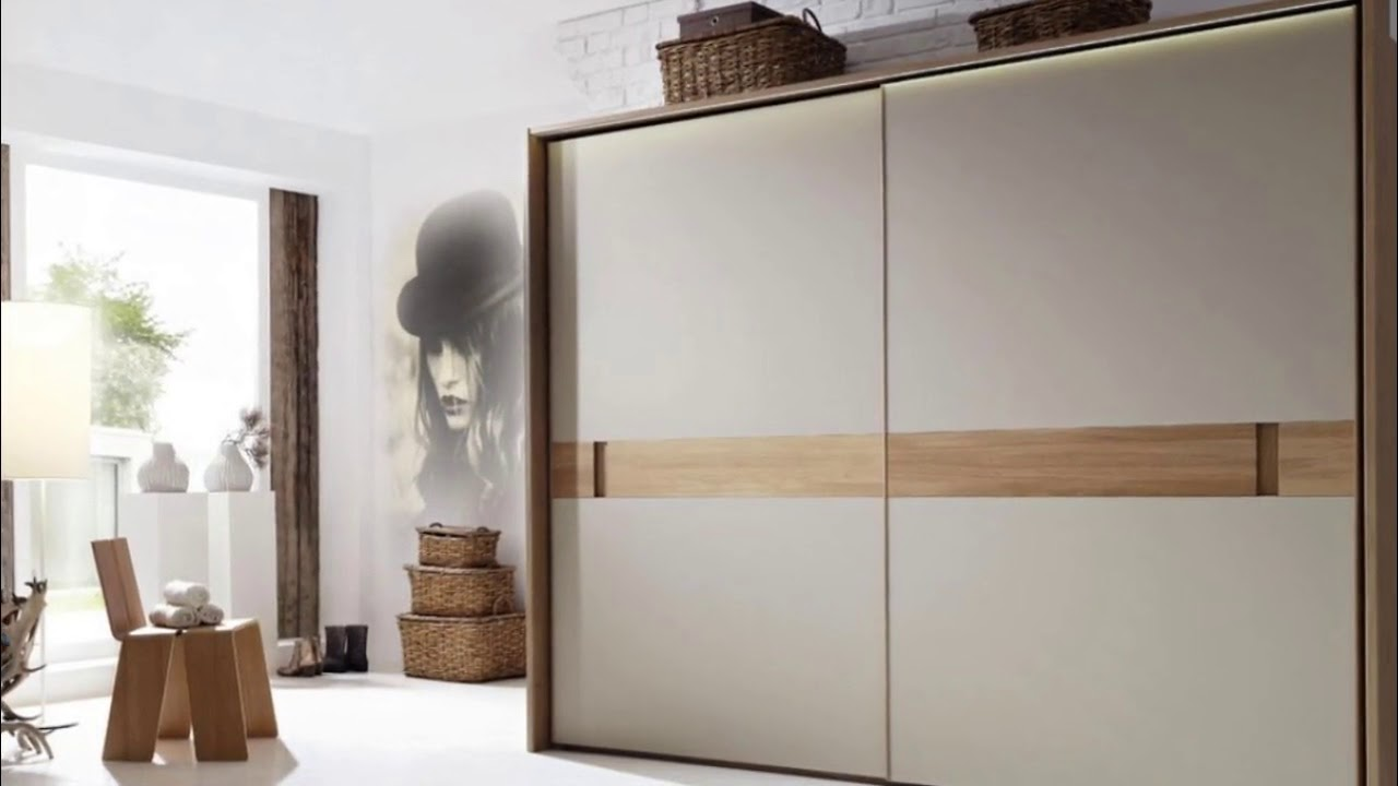 Sliding Wardrobe Designs for Bedroom Indian - YouTube