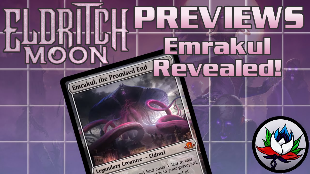 Eldritch Moon Spoilers: Emrakul, the Promised End, Foil Tokens, Prerelease  Info, and more – MTG!