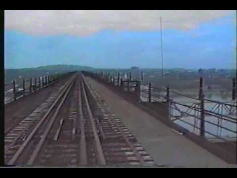 Poughkeepsie Railroad Bridge In 1991