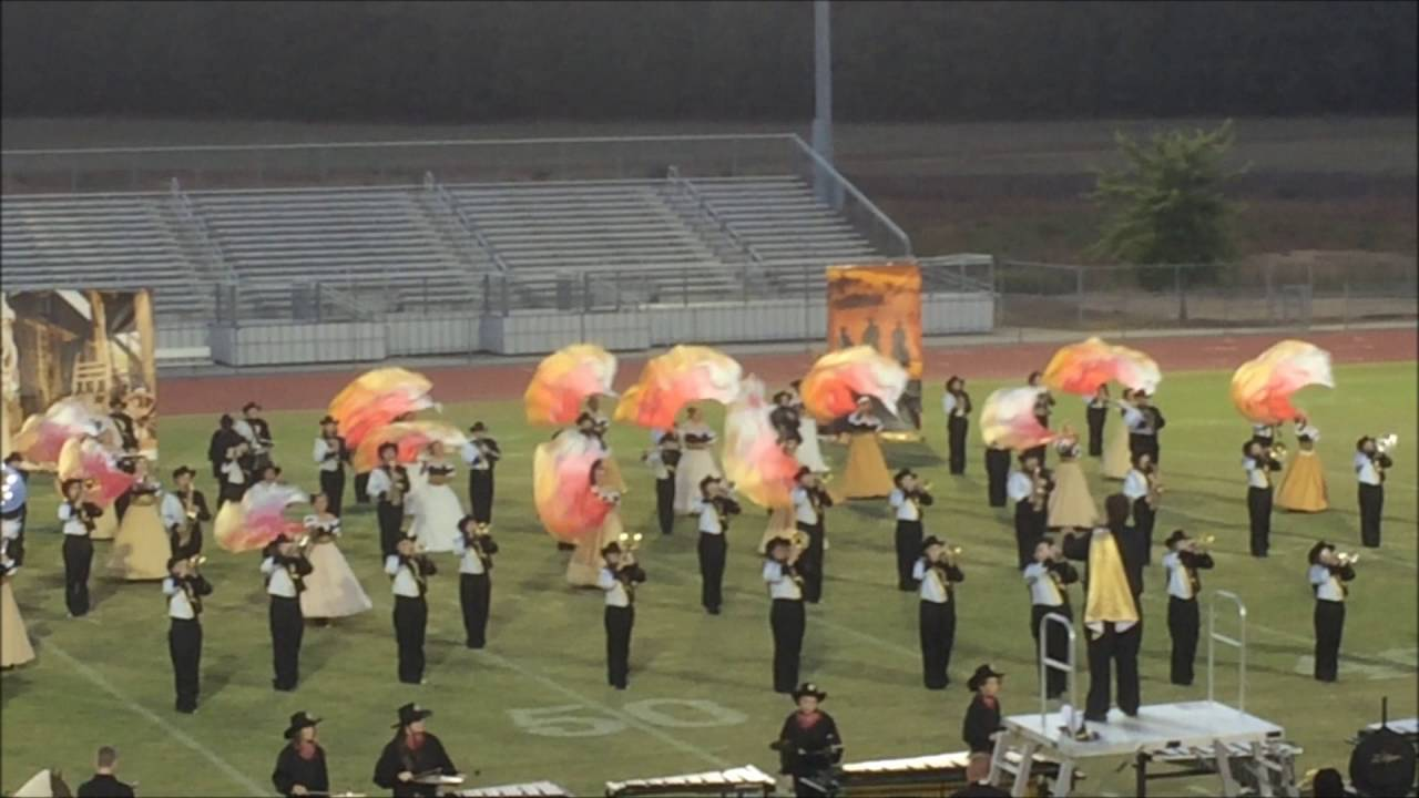 Rockmart High School Marching Band At The 2016 Bartow County