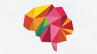 Adobe Illustrator Tutorial | 3D Abstract Poly Brain Colored Logo | 2D Graphics Design