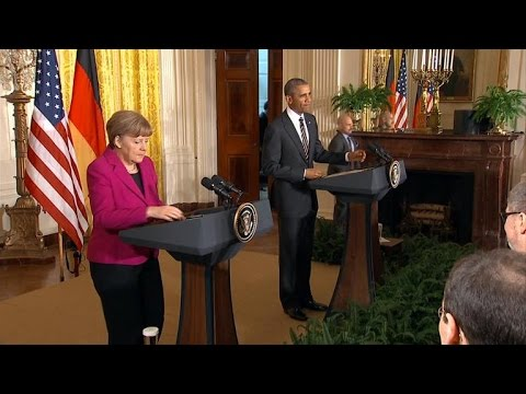 Obama, Merkel questioned about arming Ukrainian troops