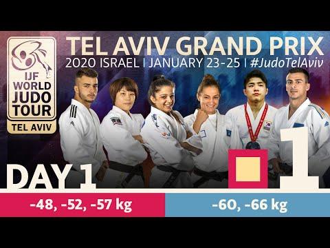 Judo Grand-Prix Tel Aviv 2020 - Day 1:  Elimination Tatami 1