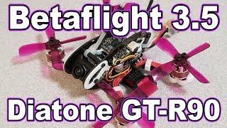 Betaflight 3.5 PIDs // Diatone GT-R90 🎓