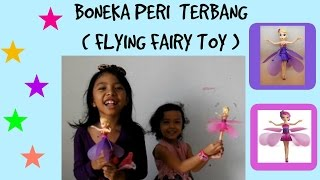 MAINAN ANAK ♥ BONEKA PERI TERBANG ~ FLYING FAIRY | English Subtitles