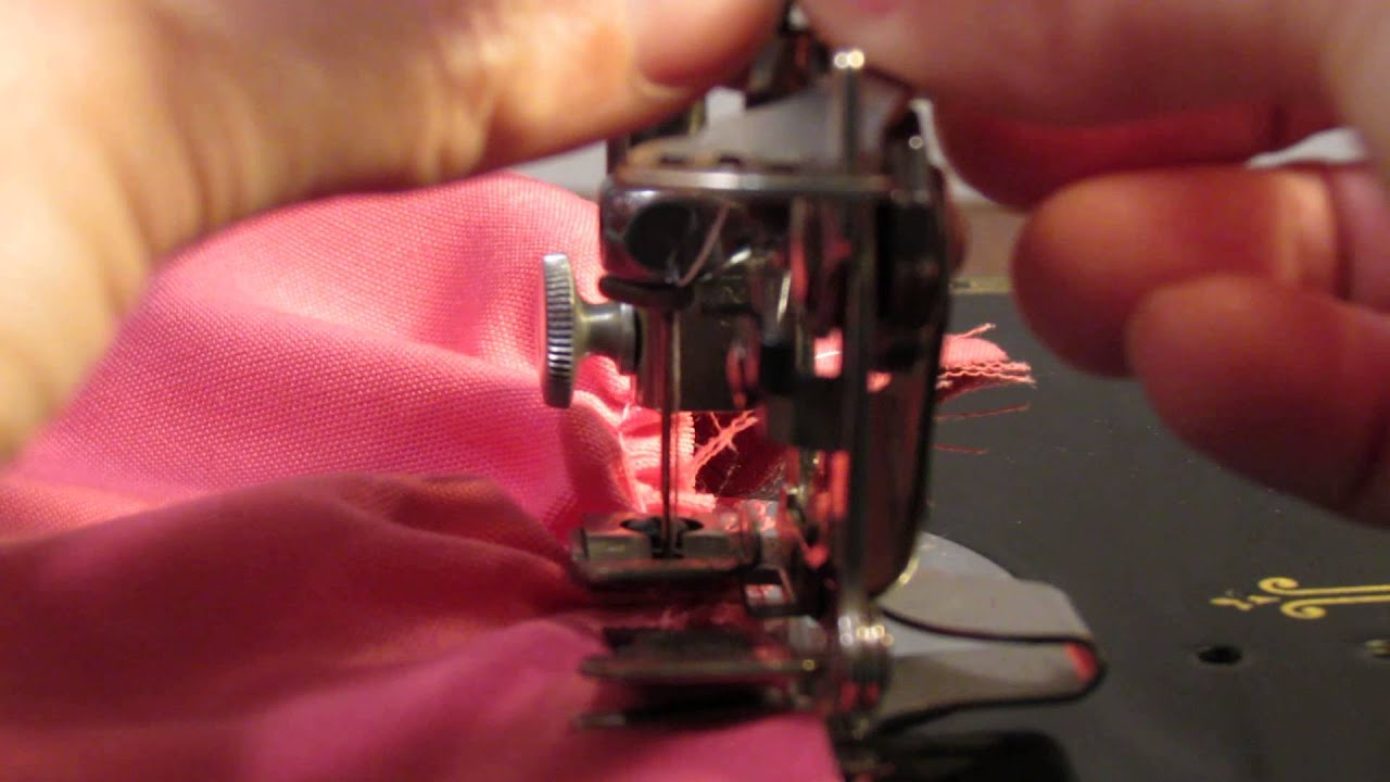 Singer Featherweight Ruffler Attachment Basics Youtube 221 K Sewing Machine Threading Diagram