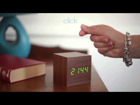 Gingko CUBE Click Clock Video