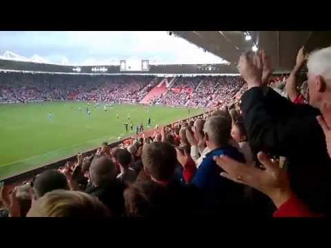 Southampton vs Sunderland 8-0 - Impressions from St. Mary's Stadium, October 18 2014