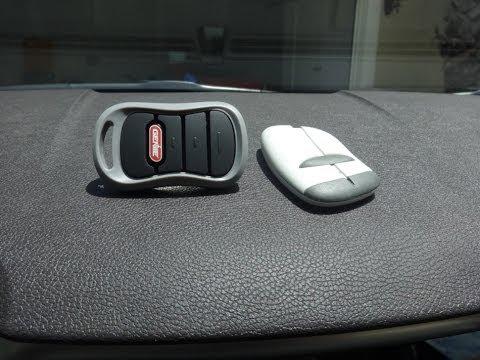 Homelink System Tutorial How To Sync Your Garage Door