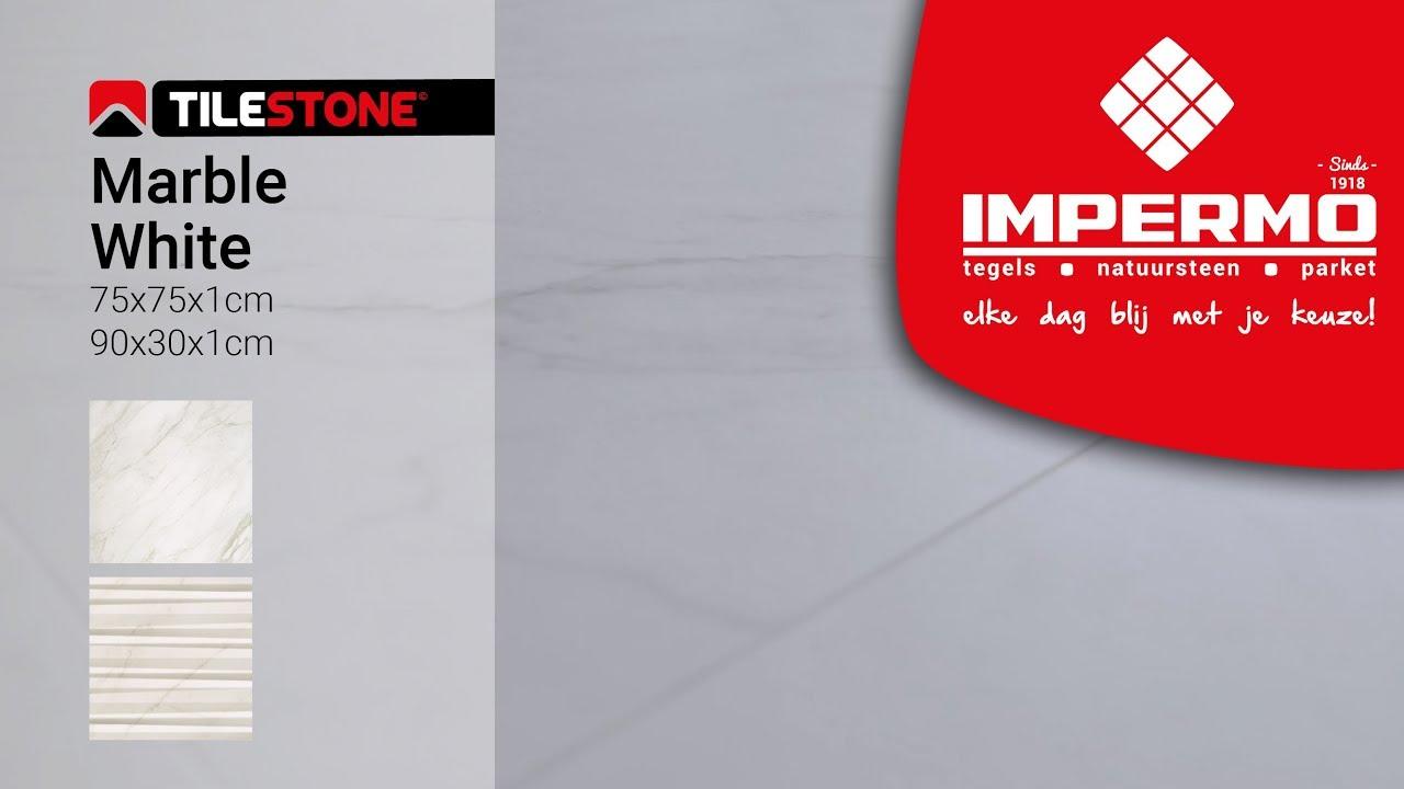 Impermo Productvideo Tilestone Marble White Youtube