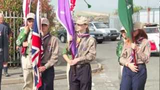 ScouteX - Newhaven, Dieppe Raid Memorial Parade 2012