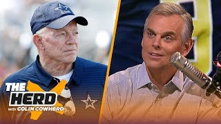 Colin Cowherd predicts Jerry Jones plans for Zeke, says Saints are 'crashing down'   NFL   THE HERD