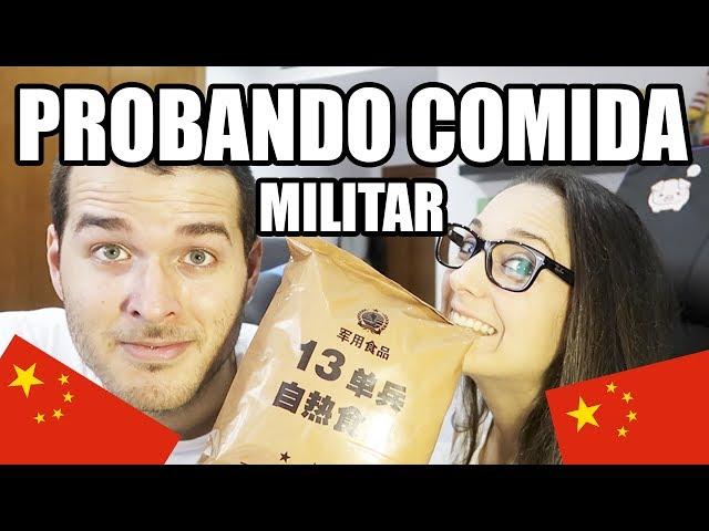 PROBANDO COMIDA MILITAR CHINA CON VIOLETA