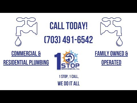 Plumber Woodbridge VA | Best Plumbing Services in Woodbridge VA | 1 Stop Mechanical, Inc