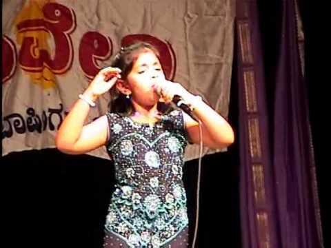 Saanika - Poojisalende Hoogala Tande - Eradu Kanasu (Kannada) @ Kaveri Idol