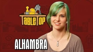 Alhambra: Dodger Leigh, Ashley Johnson, and Shane Nickerson join Wil on TableTop, episode 17