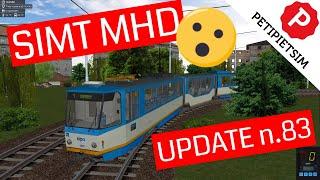 SIMT MHD | TRAM SIMULATOR | UPDATE 1.3.83 | Gameplay No Commentary #1