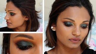 TEAL SMOKEY EYE I Brown/Sri Lankan Skin