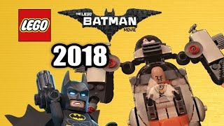 Lego batman movie 2018 sets list!