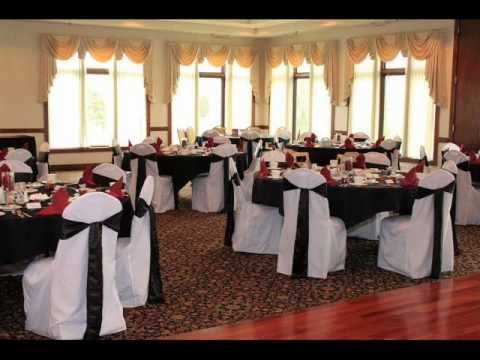 Chair Covers Rental Cheap Swivel Jargon One Dollar Rentals Www Onedollarchaircovers Com Youtube