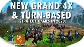 ⚜ 13 New Grand 4X and turn-based games in 2020. | Top upcoming PC and console strategy games