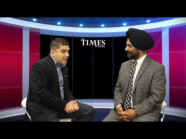 Political Times with Harpreet Singh, Candidate from Surrey-Newton