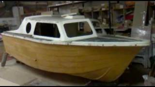 Glass Fibre Cabin Cruiser Restoration 1