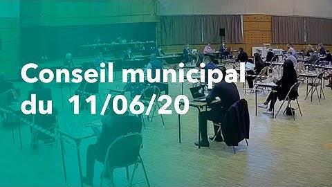 Conseil municipal de la ville de Savigny-le-Temple / 11 Juin 2020