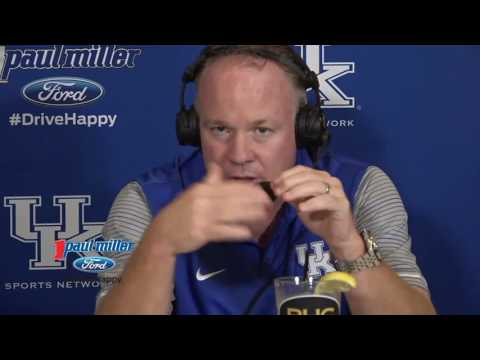 Chester called in to Mark Stoops' show