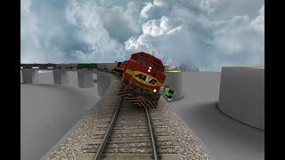 ROBLOX CSX 8888 Vorfall AWVR 777 & 767 Der unaufhaltsame Güterzug 18. Jahrestag