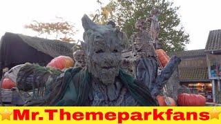 Halloween at Bobbejaanland vlog 2016. :) 4K