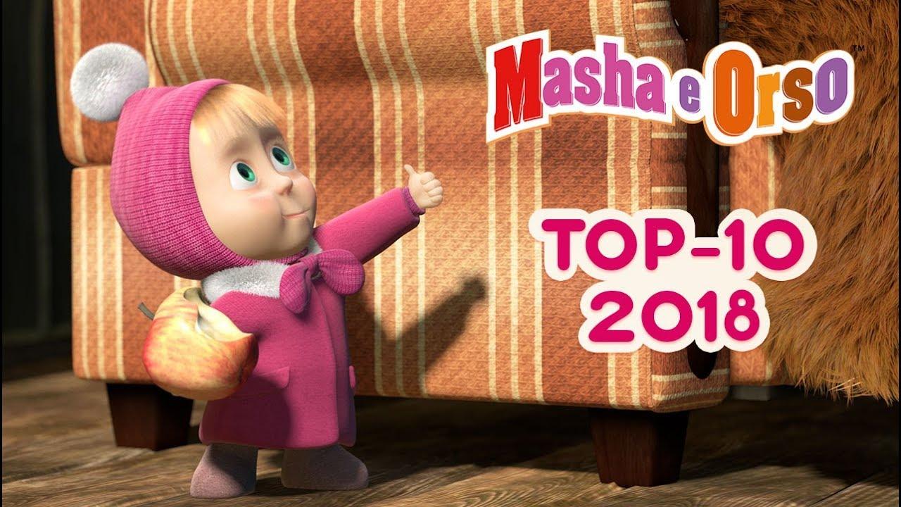 Masha E Orso Top 10 I Migliori Episodi Del 2018 Youtube