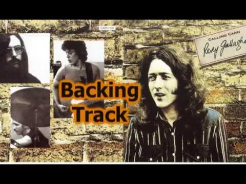 Do You Read Me - Rory Gallagher - Guitar Backing Track with vocals