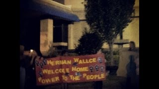 Welcome Home, Herman Wallace! New Orleans, October 1, 2013. Angola3