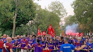 Gkn la grande manifestazione di Firenze
