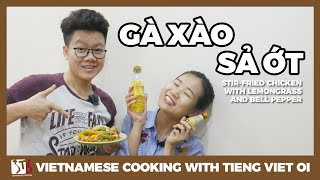Cooking with TVO: Gà xào sả ớt | Learn Vietnamese with TVO