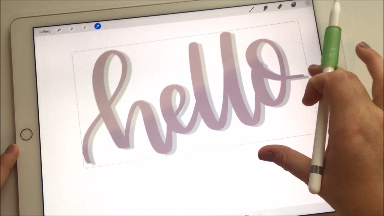 NEW PROCREATE UPDATE REVIEW & TUTORIAL (with ipad pro + apple pencil)