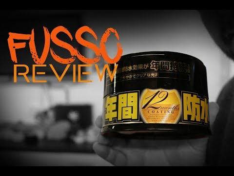 Fusso Coat by Soft 99 review demo overview