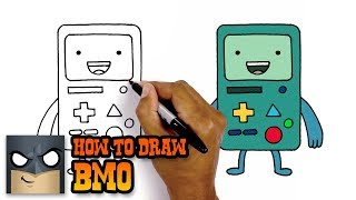 How to Draw BMO | Adventure Time | New Step-by-Step Tutorial